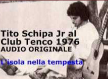 Tito Schipa jr live club tenco 1976